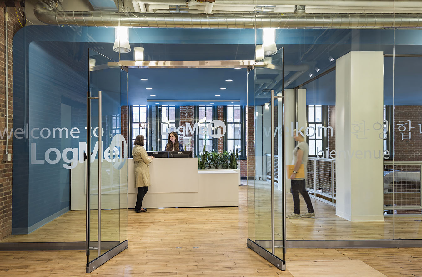 Office Exterior Entry : Logmein s corporate office moves to the innovation